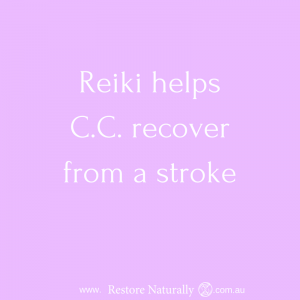 Reiki and stroke reiki melbourne