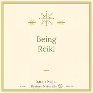 Being Reiki
