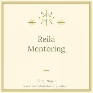 Reiki Mentoring Melbourne