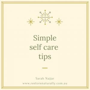 reiki and self care