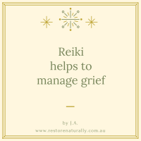 Reiki and grief