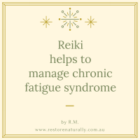 reiki chronic fatigue melbourne