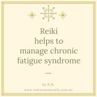 reiki chronic fatigue melbourne