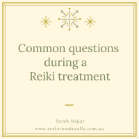reiki treatment melbourne