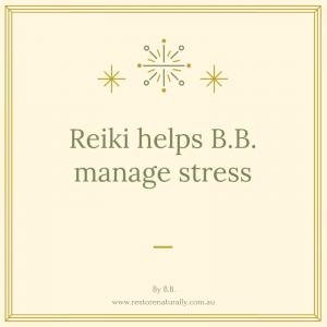 Reiki and Stress