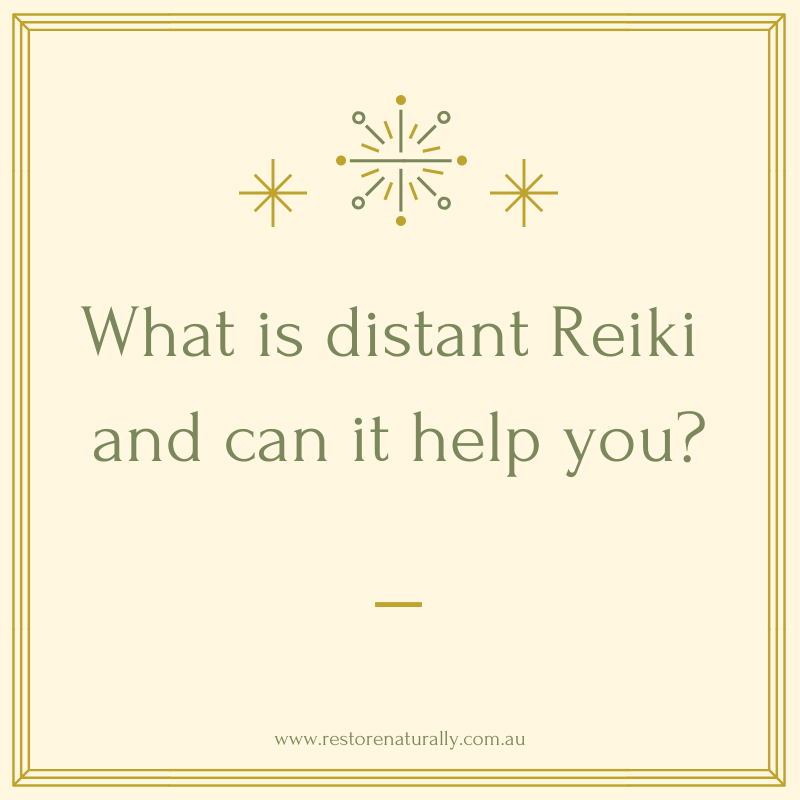 What Is Distant Reiki
