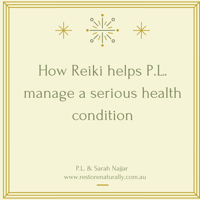 reiki helps serious health condition